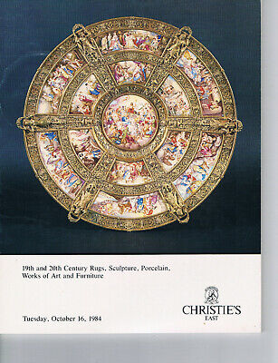 Christie's - 19/20thC Rugs, Sculpture, Works of Art, & Furniture Oct 16, 1984