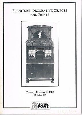 Christie's - Furniture, Decorative Objects & Prints - February 2, 1982