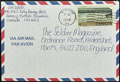 Canada 1982 Airmail Cover To England #C53963