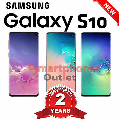 Brand New Samsung Galaxy S10 Sm-G973F 128Gb Factory Unlocked Smartphone Sealed