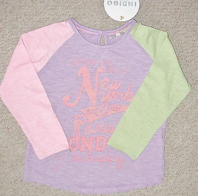 Girls Long Sleeve  Top From Marks And Spencer Ages 2 To 6 Years Bnwt