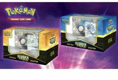*IN-STOCK* Pokemon TCG Hidden Fates Poke Ball Collectors Edition *set of 2*