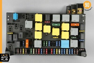 OEM 98-05 MERCEDES W163 ML320 ML500 Main Fuse Box Relay ... on main panel box, main fuse house, main terminal box, circuit breaker box, main circuit box, heater box, main disconnect switch, main breaker panel, main electrical box, light box, main fuse battery, main breaker box, generator box, main circuit breaker, motor box,