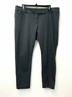 Mossimo Stretch Women's Size 16 Dark Gray Skinny Career Pant, EUC