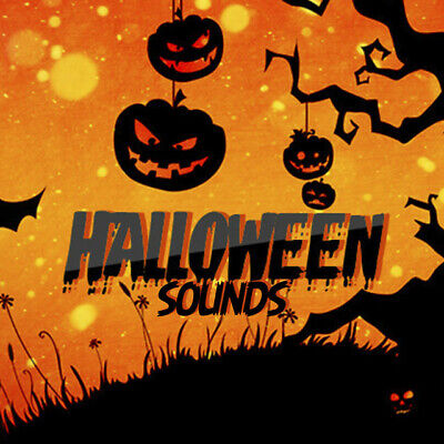 SPOOKY HORROR HALLOWEEN SCARY PARTY SOUND CD  Evil Laughs
