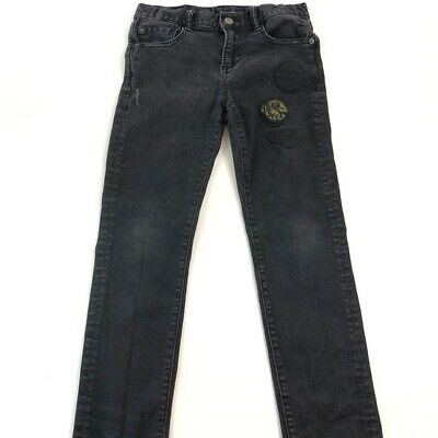 Boys Gap Jeans Black Size 10 - Features distressing and patch detail