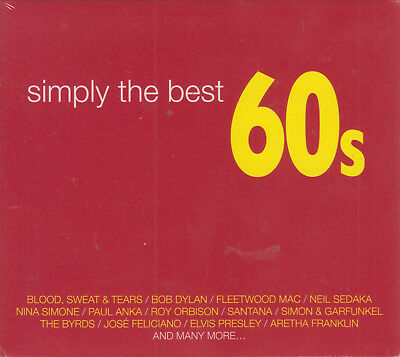3 CD's Simply The Best 60s (Various Artist) NEW 190759035924 - FAST SHIPPING!