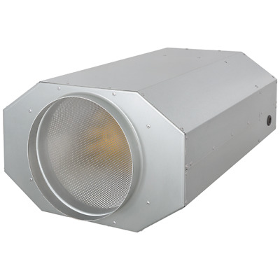 Pipe Fan with Three Speed Levels Fully Insulated, Sound-Insulated