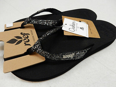 Reef Star Cushion Almond Women/'s Casual Flip Flop Sandals RF001392