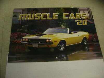 2020 Muscle Car Calender Free Shipping