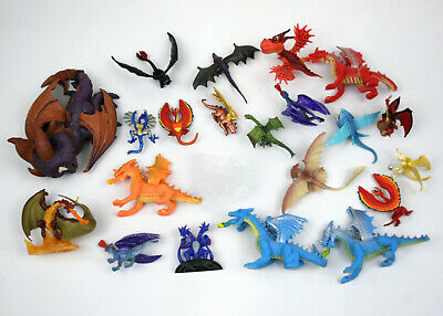 Spin Master How to Train Your Dragon Mini Safari Squishy Spyro & More - Lot 21