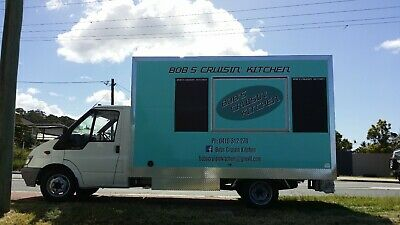 Ford Transit T350 Food Truck with professionally built commercial kitchen.