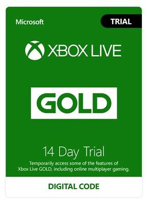 Xbox Live GOLD (GLOBAL) Trial Membership 14 days INSTANT DELIVERY -Xbox One ONLY