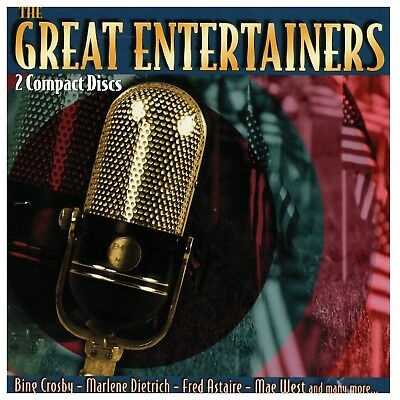 The Great Entertainers by Various Artists (CD, 2 Discs)