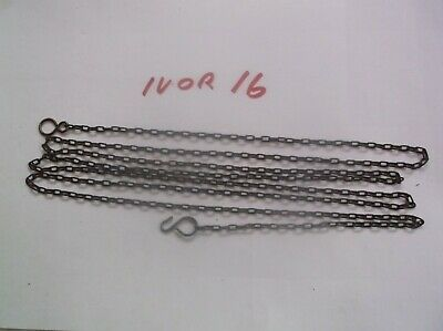 A Chain From An Old Cuckoo Clock 62 Lincs To The Ft 69 Inch Long Ref Ivor 16