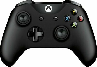 Official Xbox One Wireless Controller Black for Microsoft (3.5mm Headphone Jack)