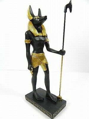 Anubis Standing Egypt Egypt, God of the Dead, 8 5/16in Poly Figurine, New
