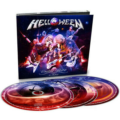 HELLOWEEN United Alive in Madrid DIGIPAK 3 CD SET (Official Russian Edition)