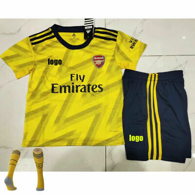 2019-2020 Kids/Adults Soccer Kits Football Suits Jersey Strip Sports Outfits UK