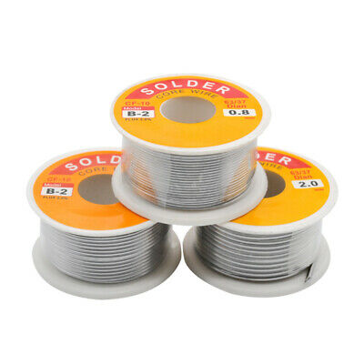 100g 63-37 Tin Lead Solder Wire Electrical Soldering Rosin Core 0.5mm-2mm- HD086