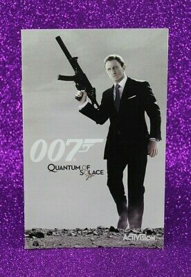 Instruction Booklet/Manual Only For 007 Quantum Of Solace Ps2 (No Game) ❄️
