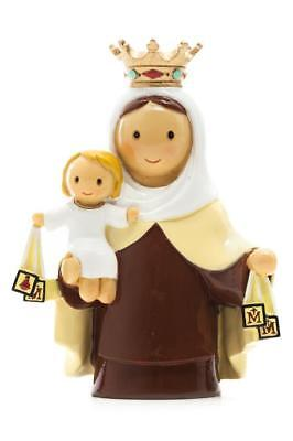 "Our Lady of Mount Carmel ""Little Drops Of Water"" Statue Figure NEW!"