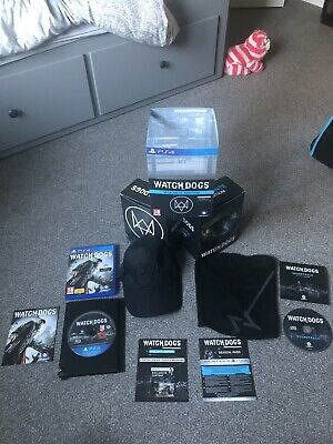 Watch Dogs Vigilante Edition - Ps4 - Complete - Played Once *Very Near Mint*