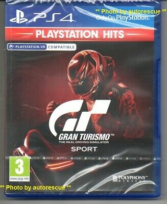Gran Turismo Sport VR   'New & Sealed'  *PS4(Four)*
