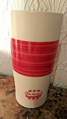 Tim Hortons Mug Cafe And Bake Shop ceramic red white travel coffee drink  2011