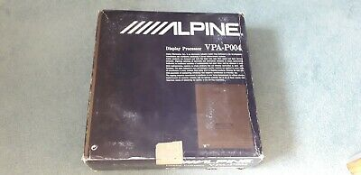 alpine old school display processor AINET VPA P004 brand new in box very rare