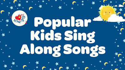 101 Kids Singalong Songs Nursery Rhymes Children's Download Only