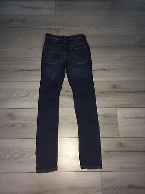 Jeans 152 Skinny Jungen Blau Tolle Musterung