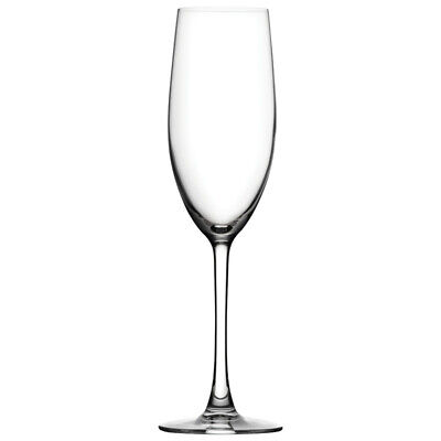 Box 6 Utopia Crystal Reserva Flute Wine Bar Glass Glassware 8.5oz (240ml)