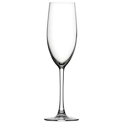 Box of 4 Utopia Crystal Reserva Flute Wine Bar Glass Glassware 8.5oz (240ml)