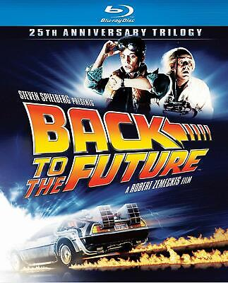 Back To The Future Trilogy 25th Anniversary 1-3 (Blu-ray) NEW Factory Sealed