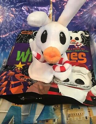 Disney Wishables Plush Haunted Mansion Holiday Series Zero Small Plush