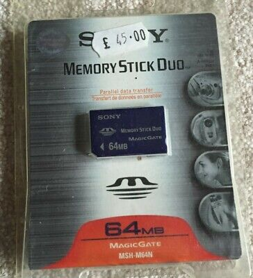 Sony 64MB Memory Stick Duo MSH-M64A