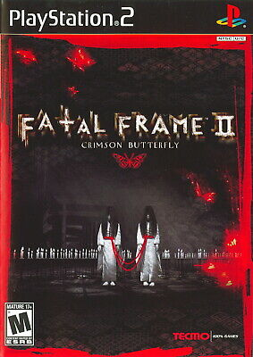 Fatal Frame II 2: Crimson Butterfly [PlayStation 2 PS2 Tecmo Project Horror] NEW