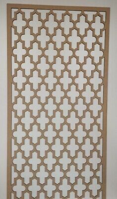 Radiator Cabinet Decorative Screening Perforated 3mm & 6mm thick MDF lasercutUT1
