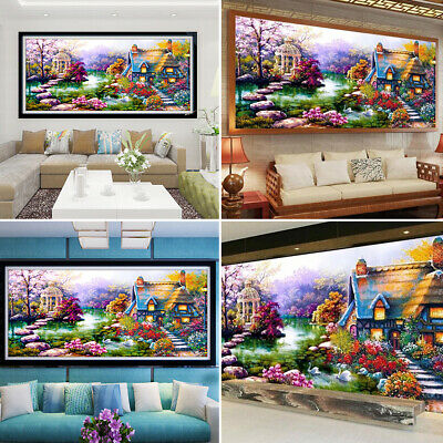 Large 5D Diamond Painting DIY Craft Cross Stitch Embroidery Kits Gift