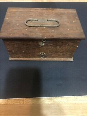 1900's No.4 Home Medical Apparatus Kit With Osk Box Rare