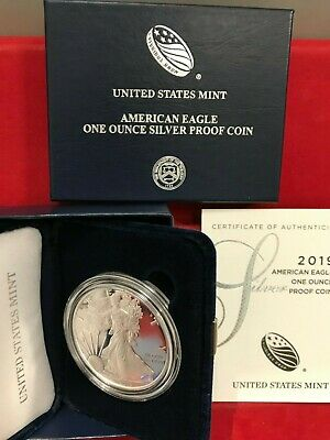 2019-S American Eagle One Ounce Silver Proof Coin (19EM)