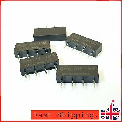 4x Relay SIP-1A05 5V Reed Switch Relay For PAN CHANG Relay 4Pin