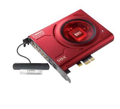 Creative hires compatible sound card PCIe Sound Blaster Z play redirection re