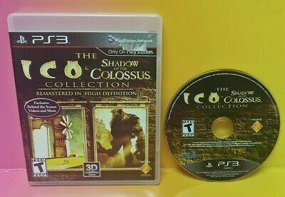 Ico And Shadow Of The Colossus Collection - Sony PlayStation 3 PS3 Game Tested