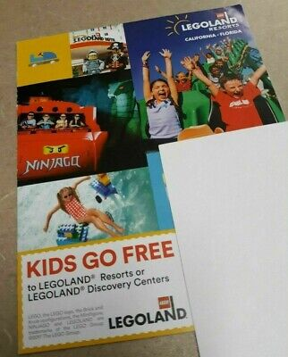 LegoLand Resorts & Discovery Center Kids Go Free Child Ticket with Paid Adult