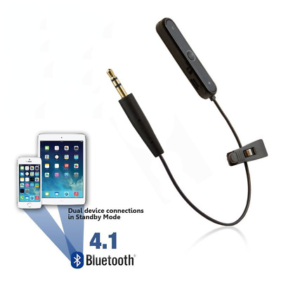 Bose SoundLink Headphones Bluetooth Adapter - Wireless Converter Cable Lead