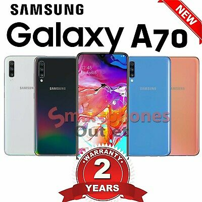 Samsung Galaxy A70 Sm-A705F 128Gb 2019 4G Lte Dual Sim Unlocked Phone Brand New