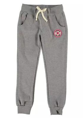 CONVERSE Girls Fleece Super Warm Tracksuit Joggers Bottoms Age 5 - 6 Years New