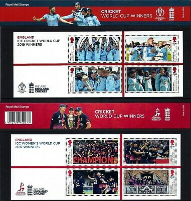 Gb 2019 Mint Cricket World Cup Winners Presentation Pack M25 Miniature Sheet